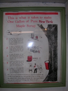 How to make 1 gallon of maple syrup