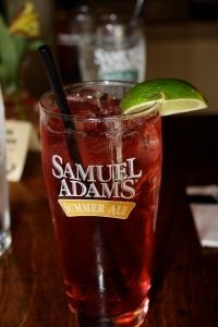 Cranberry Wine Spritzer