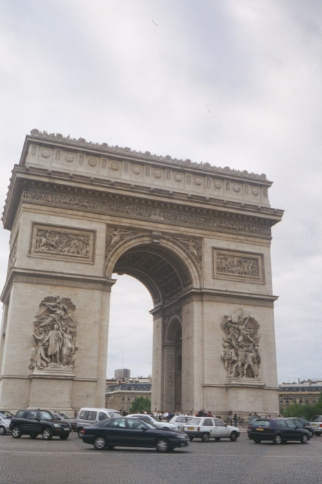 Obligatory picture of Arc de Triomphe