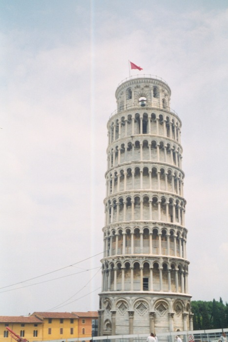 """Leaning"" Tower of Pisa"